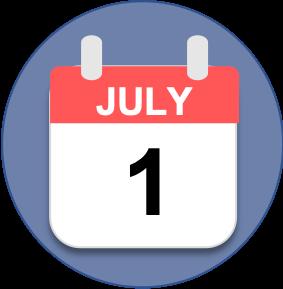 Calendar July First